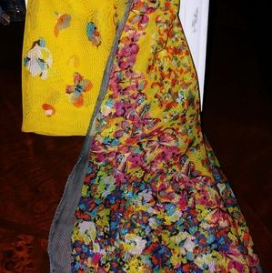 Nwot Sheer Butterfly Scarf
